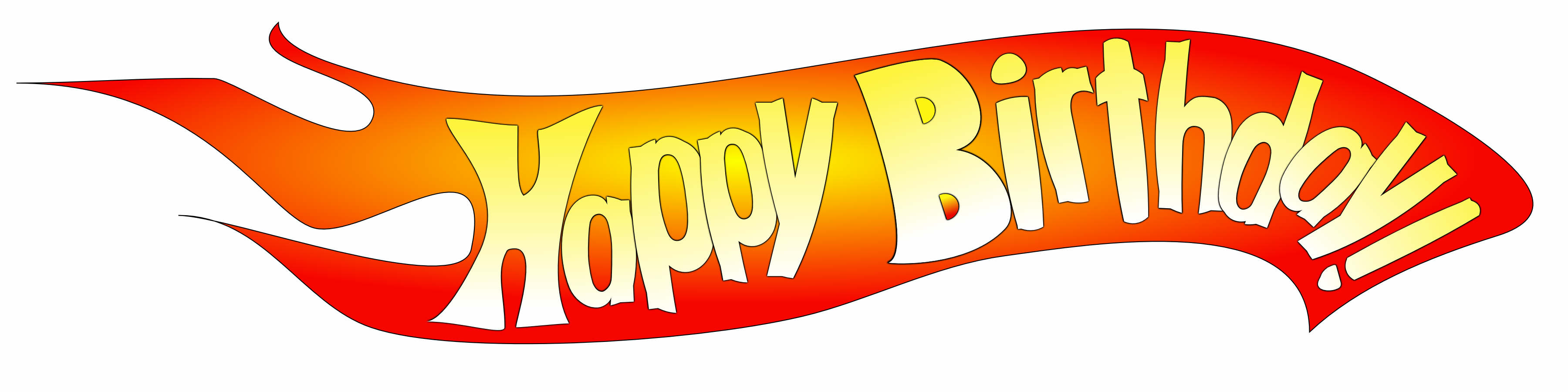 Birthday Party Hot Wheels on Free Printable Happy Birthday Signs
