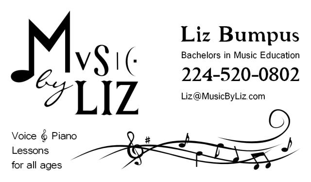 Liz Music Biz Card